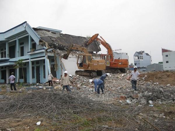 Thu mua xác nhà cũ Bình Dương